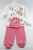 Детский костюм с шапочкой 3, 6, 9 месяцев Турция