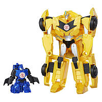 Трансформеры Hasbro Transformers Robots in Disguise Гирхэд-Комбайнер Bumblebee и Stuntwing (C0653_C0654)