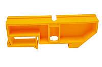 Изолятор нулевой шины на Din-рейку жёлтый