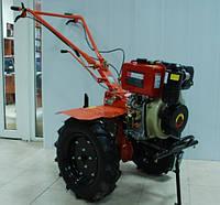 Мотоблок дизельный Зубр HT-135 (9л.с.) ручной стартер