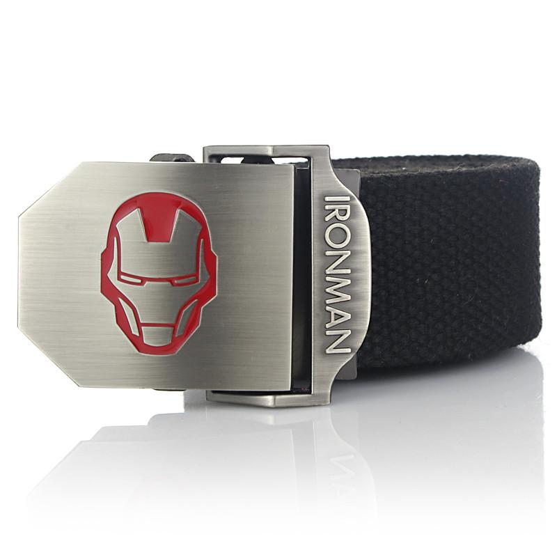 Тактичний пояс «Iron Man» 110 см темно-сірий