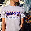 Футболка Thrasher Flame | Оригинальная бирка, фото 5