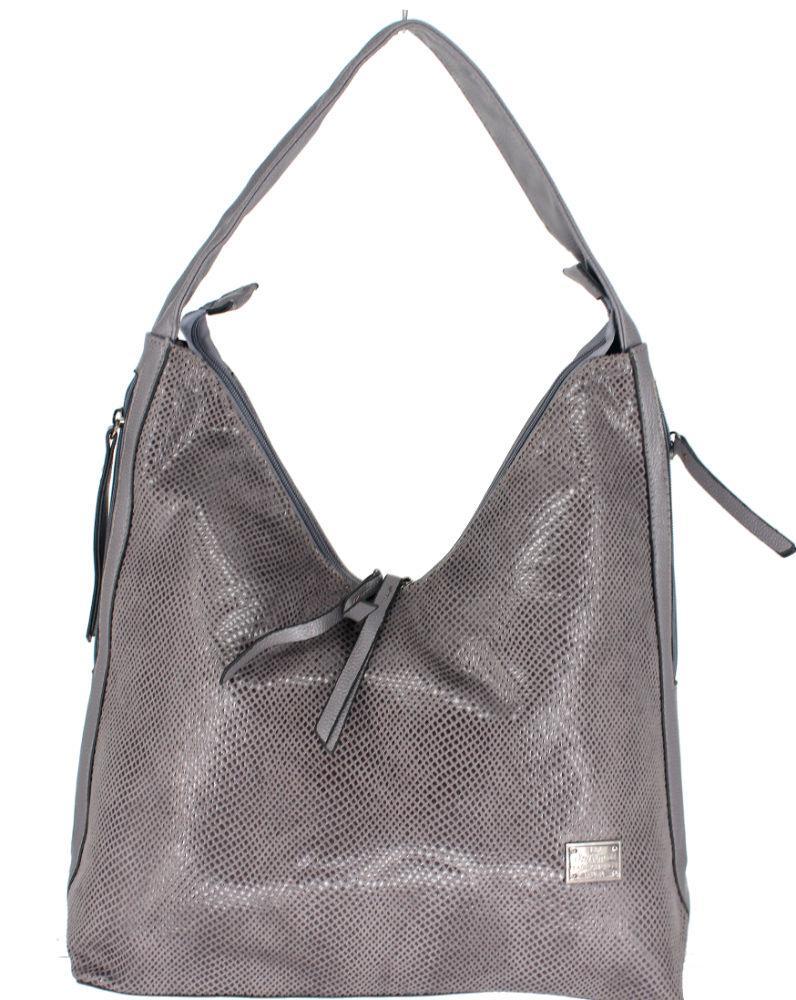 a0087852a077 Женская Сумка Арт. 1692 Цвет Серый - Интернет-магазин Ladyfuture сумки  оптом и в
