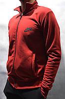 Мужская кофта утепленная Nike - бордовая