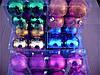 Новогодние елочные шары 16 шт. в упаковке ( диаметр 4 см ), фото 2