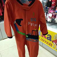 Пижама человечек слип Экскаватор Early Days Primark
