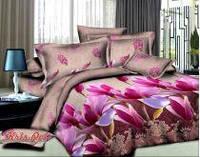 Комплект постельного белья полиэстер 3D ТМ KRIS-POL (Украина) полуторный 49852261