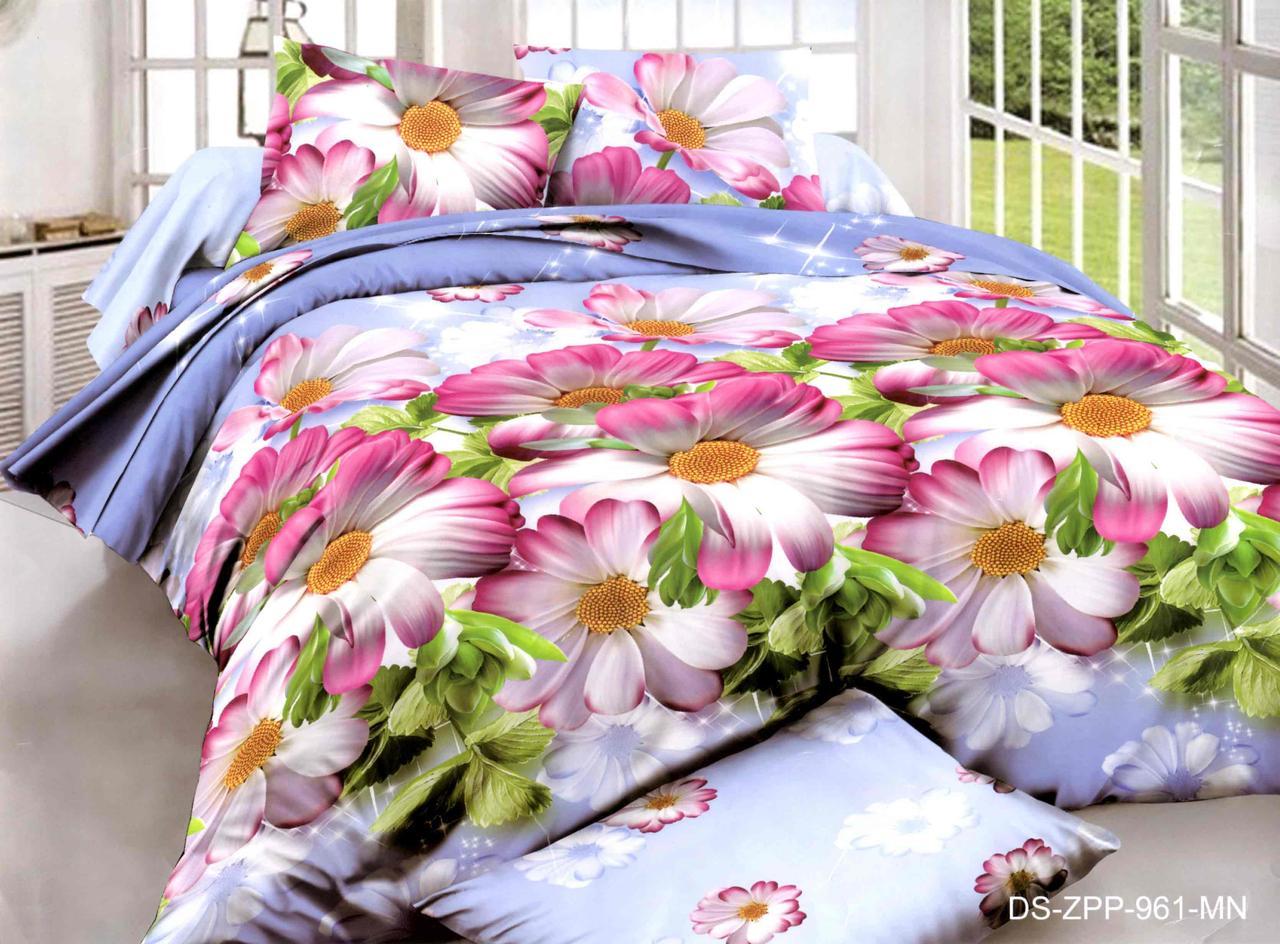 Двуспальный набор постельного белья 180*220 из Полиэстера №213 Черешенка™