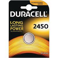 Батарейка DURACELL DL 2450, 5029LC, CR2450, 1 шт. LITHIUM