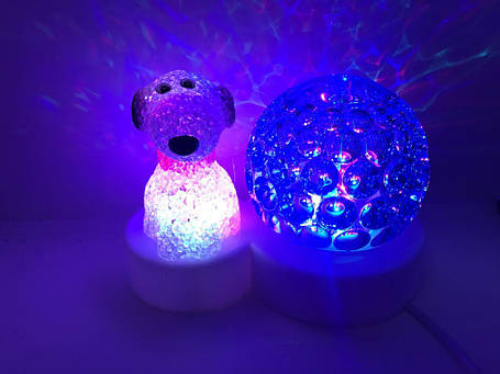 Диско шар Собака (светильник новогодний), фото 2