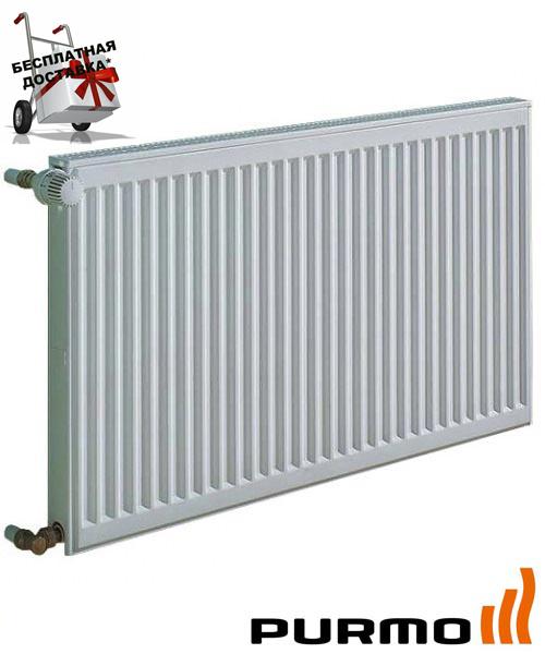 Стальной (панельный) радиатор PURMO Compact т11 500x1000 боковое подключение