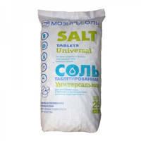 Соль таблетированная. Мозырьсоль