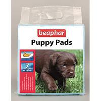 Пеленки 7 шт. для щенков (PUPPY PADS)  Беафар / Beaphar