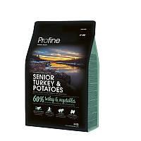 Сухой корм 3 кг для пожилых собак Профайн / Senior Turkey & Potatoes Profine