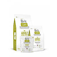 Сухой корм 1 кг для взрослых собак мелких пород Брит Кеа / Adult Small Breed Lamb & Rice Brit Care