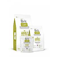 Сухой корм 3 кг для взрослых собак мелких пород Брит Кеа / Adult Small Breed Lamb & Rice Brit Care