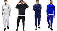 Спортивный костюм Nike синий , турецкий,  к5011