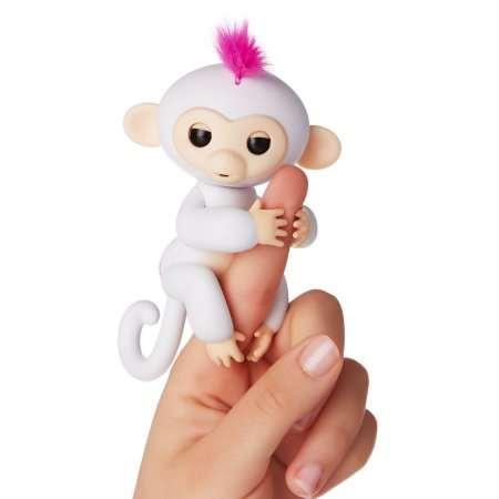Интерактивная обезьянка Fingerlings / happy monkey ручная обезьянка