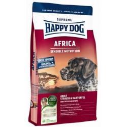 HAPPY DOG SUPREME AFRICA, корм для взрослых гипераллергичных собак с мясом страуса, 12,5 кг
