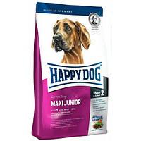 HAPPY DOG Supreme Maxi Junior корм для молодых собак крупных пород, птица, ягнятина, рыба, 15 кг