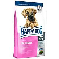 HAPPY DOG  Supreme Maxi Baby корм для щенков крупных пород, птица, ягнятина, рыба, 15кг