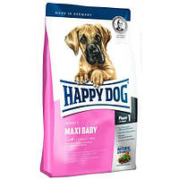 HAPPY DOG  Supreme Maxi Baby корм для щенков крупных пород, птица, ягнятина, рыба, 4 кг