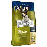 Happy Dog Mini Neuseeland корм для маленьких пород собак, ягненок, рис, 4кг