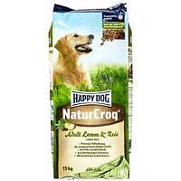 Happy Dog NaturCroq корм для собак средней активности, ягненок и рис, 4кг
