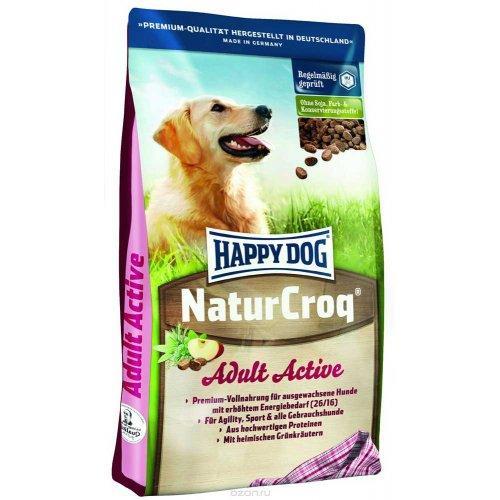 Happy Dog NaturCroq Active корм для активных собак, птица, 15 кг