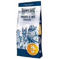 Happy Dog Profi-Line Sportive корм с повышенным содержанием энергии для собак с умеренными нагрузками, 20кг