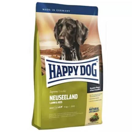 Happy Dog Supreme Neuseeland корм гипоаллергенный для собак, ягненок, рис, 12,5 кг, фото 2