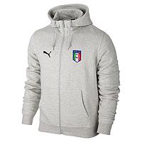 Спортивная толстовка (кофта) сборной Италии-Пума, Italy, Puma, с капюшоном 14e916fd0e2