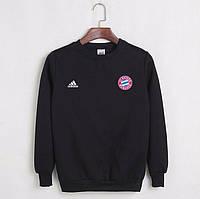 Футбольный свитшот (кофта) Бавария-Адидас, Bavaria-Adidas, черный, К4490