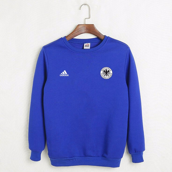 3b8ed0f41f15 Футбольный свитшот (кофта) Сборной Германии-Адидас, Germany-Adidas, синий,  К4504