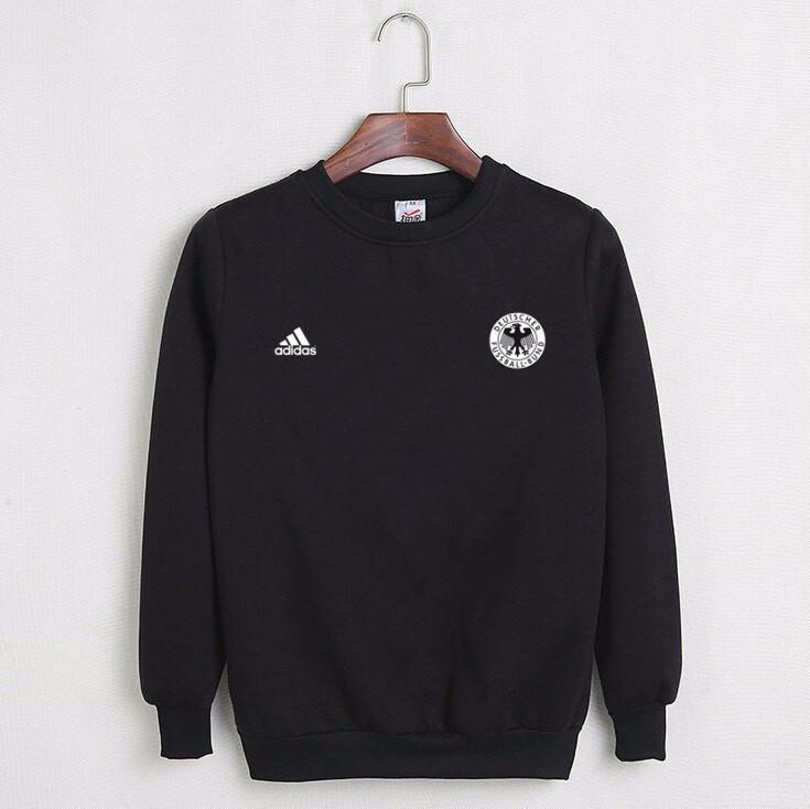 77f9718061e8 Футбольный свитшот (кофта) Сборной Германии-Адидас, Germany-Adidas, черный,