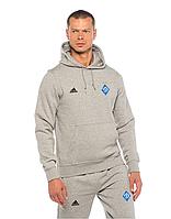 Спортивный костюм Динамо Киев, Адидас, Adidas, серый, с капюшоном, К4884