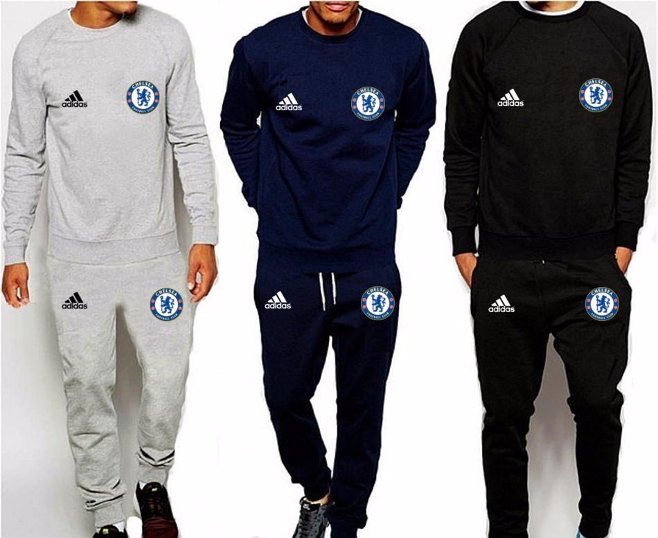 981e74c1 Спортивный костюм Adidas-Chelsea, Челси, Адидас, серый, синий, черный,  К4926, цена 830 грн., купить в Киеве — Prom.ua (ID#617097711)