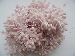 Тичинки цукрові великі рожеві (на фото блідо-рожеві)
