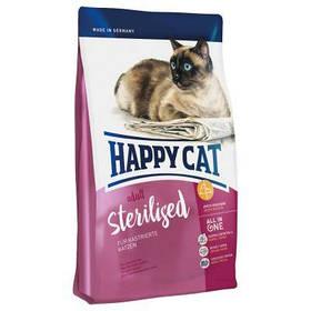 HAPPY СAT  adult Sterilised корм для кастрированных котов, 10 кг