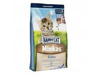 HAPPY СAT Minkas Kitten полноценный базовый корм для котят, 10 кг