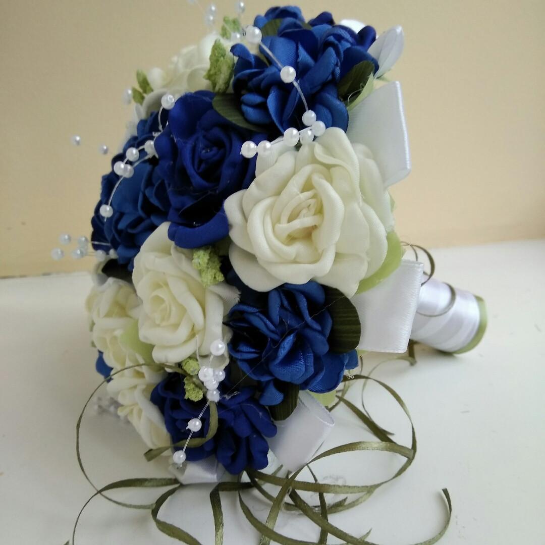 Синий букет-дублер