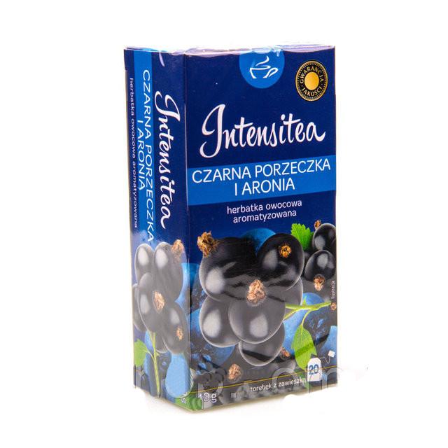 Чай Intensitea (Интенси) Чёрная смородина и черноплодная рябина