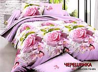 Семейный набор хлопкового постельного белья из Ранфорса №328 Черешенка™