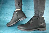 Мужские зимние ботинки YDG , натуральная кожа, набивная шерсть, размеры 41,42,43,44