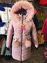 Зимнее пальто на девочку подростка Бубон Размеры 38- 44 Новинка! Мята, фото 8
