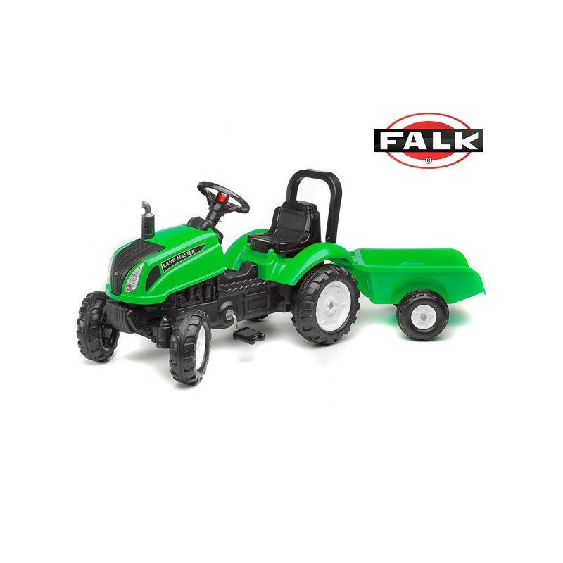 Трактор на педалях с прицепом LAND MASTER FALK - 3083AD