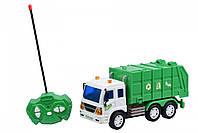 Машинка мусоровоз на р/у Same Toy CITY, детский мусоровоз, спецтехника