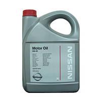 Масло NISSAN 5W-40 5л KE900-90042 синтетическое