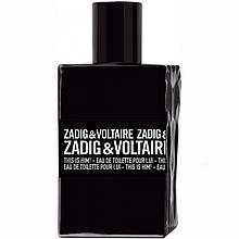 Zadig & Voltaire This is Him туалетна вода 100 ml. (Тестер Задиг і Вольтер Зіс іс Хім)