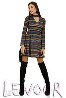Платье в этно стиле из ангоры